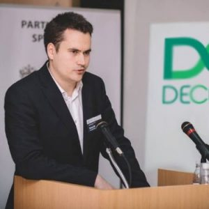 Matej Michalko, founder, CEO and president ofDECENT,